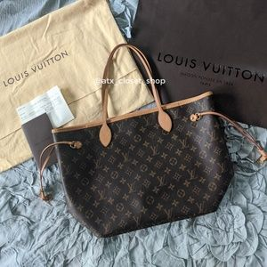 Authentic Louis Vuitton Neverfull MM (Pre-owned)